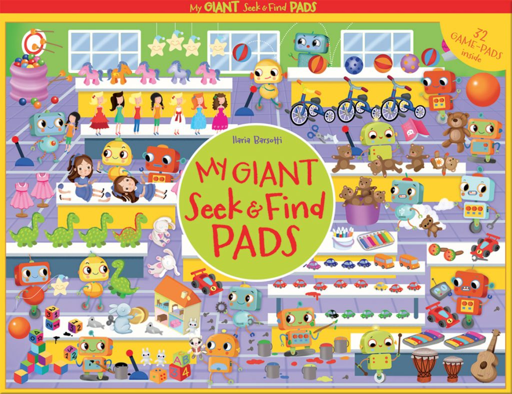 my Giant Seek & Find PADS