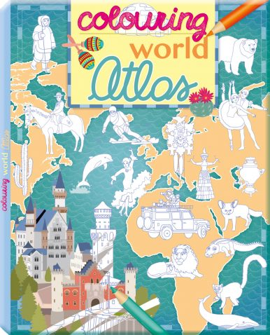 Colouring world Atlas