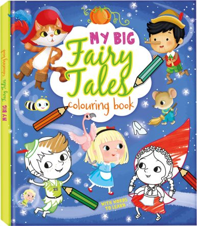 Fairy Tales colouring books serie