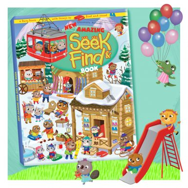 new amazing Seek & Find Book
