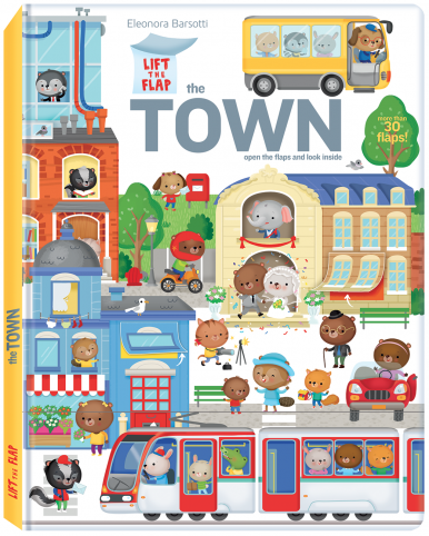 Lift the flap – The town